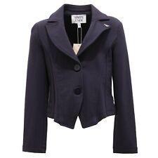 5000R giacca bimba ARMANI JUNIOR cotone blu jaket kid