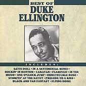 DUKE ELLINGTON - The Best of Duke Ellington (Greatest Hits) jazz CD [B27]