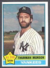 1976 TOPPS BASEBALL 650 THURMAN MUNSON NM N Y YANKEES AS CARD FREE SHIPP