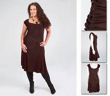 NEW!  Zaftique CLASSIC DRESS Coffee Brown 0Z 1Z 3Z /14 16 24 / Large & XL 1X 3X