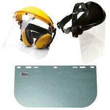 Ersatzvisier Kettensäge Motorsense Flex Gesichtsschutz mit Klarsichtvisier