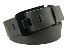 Pieno pelle bovina Pelle Bufalo Cintura Donna Uomo Jeans Cintura in Pelle Cintura 4mm Dick