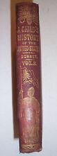 1866 Child's History of The United States.Vol.III. Great Rebellion. John Bonner