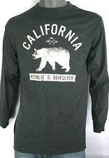 Quicksilver Long Sleeve California HB Republic Of Quicksilver Dark Gray