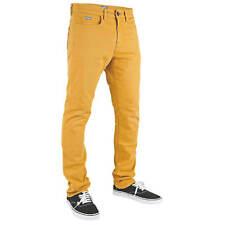 Superslick Hose gelb - Tight Pant slimfit mit Stretch - Unisex Damen u Herren