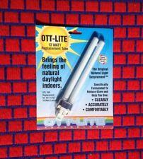 NEW Ott-lite type A fluorescent 13w light bulb PL13-A for desk lamp or Vita-Lite