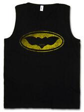 GOTHAM GREMLIN MEN TANK TOP Batman Gremlins Sign Logo Bat Symbol Gotham Fun