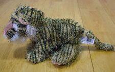 """Ganz Webkinz Fuzzy TIGER 9"""" Plush Stuffed Animal"""