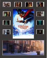 Disneys Christmas Carol replica Film Cell Presentation 10x8 Mounted 10 cells