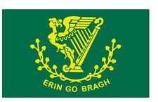 Irish Erin Go Bragh Flag Vinyl DECAL Sticker MADE IN THE USA F606
