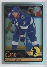 2012-13 O-Pee-Chee Rainbow Foil #304 Brett Clark Tampa Bay Lightning Hockey Card