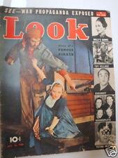 LOOK MAGAZINE: JANUARY 18, 1938
