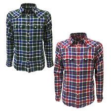 Lee 101 Men's Shirts 101 Rider Shirt Cutting Western 100% Cotton Regular Fit