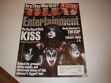 KISS MAGAZINE 1996 ENTERTAINMENT WEEKLY REUION TOUR GENE SIMMONS