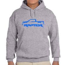 2017-19 Ford Raptor F150 Pickup Truck Grey Hoodie Sweatshirt FREE SHIP
