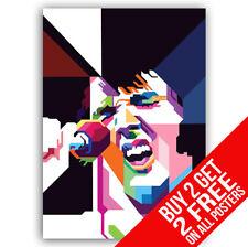 ELVIS PRESLEY Pop Art Poster A4/A3 MISURA - BUY 2 Get qualsiasi 2 FREE