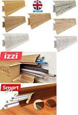 """PVC Plastic  SKIRTING BOARD 2.50 m  (8' 2"""")  -55 mm IZZI- FLEX"""