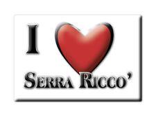 CALAMITA LIGURIA FRIDGE MAGNET MAGNETE SOUVENIR LOVE SERRA RICCO' (GE)
