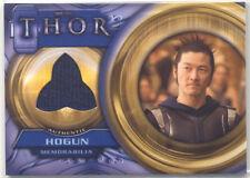 Thor Movie Hogun Memorabilia Costume Card F7