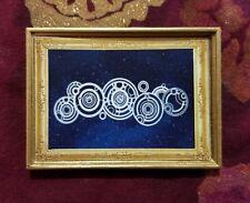 Dr. Who's Name In Gallifreyan Handmade Christmas Ornament/Magnet/Dollhouse Mini