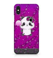 Mignon Bébé Panda Coloré léopard Animal Peau Imprimé Camouflage Téléphone Étui Housse