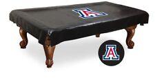 Arizona Pool Table Cover w/ Wildcats Logo - Black Vinyl
