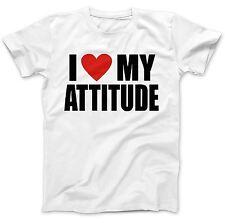 I Love My Attitute T-Shirt 100% Premium Cotton Ice Cube