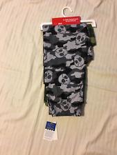 UP-LATE: Boy's Pajama/Lounge Pants, Green Camo & Gray Camo w/Skull Set: Sm, Med