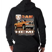 Ram Hemi Dodge Truck Guts Glory American Car Company Hooded Sweatshirt Hoodie