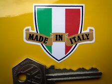 Made in ITALY Shield & Scroll Car/Motorcycle Sticker Ducati Moto Guzzi MV Agusta