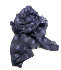 Sciarpa a pois blu azzurro uomo donna kefia moda per il collo novita made Italy