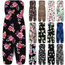 Plus Size New Womens Floral Sheering Bandeau Boobtube Playsuit Ladies Jumpsuit
