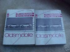 1991 Oldsmobile Cutlass Supreme Service Manuals