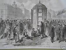 España Revolución Puerta del Sol de Madrid 1868 Print