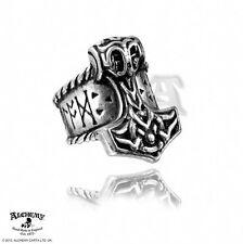 Alchemy Gothic Thor's runehammer Anello Nuovo di Zecca