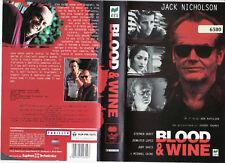 Blood & Wine (1996) VHS