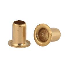 Brass Hollow Rivets Tubular Eyelet M0.9 M1.3 M1.5 M1.7 M2 M2.3 M2.5 M3 M4 M5 M6
