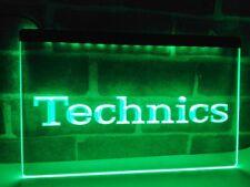 Technics Turntables DJ Music NEW LED Neon Light Sign home decor crafts