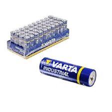 Stück Varta Industrial Batterien AA Mignon Alkaline 4006 LR6 LR06 Folienpack Neu