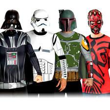 STAR Wars cattivi Camicie + maschera uomo costume Halloween adulti MOVIE Costume