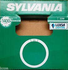 Packs of Sylvania 22W T9 Warm White Circular Fluorescent tube Round FC22W/29