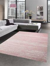 Moderno tappeto moquette salotto di casa monocolore uni rosa