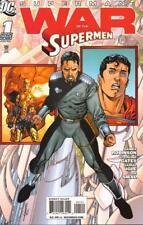 1:25 variant WAR of the SUPERMEN #1 superman DC JAMES ROBINSON 1st print comic