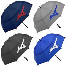 2020 Mizuno Tour Twin Canopy Umbrella Large Golf Rain Brolly Wind Resistant NEW