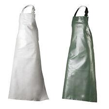 PVC Schürze Metzgerschürze Latzschürze Arbeitschürze Gummischürze grün oder weiß