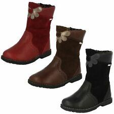 Girls Startrite Casual Boots, Aqua Flower