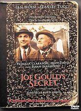 Joe Gould's Secret -USA DVD,-OOP/Rare-Mint-Region 1- Stanley Tucci Ian Holm