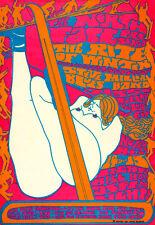Steve miller vintage concert poster psychédélique t-shirt homme femmes tailles enfants