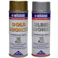 Wilckens Veredelungs-Spray 400ml (11,25€/L) Holz Lackspray silber oder gold