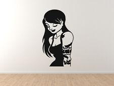 Artist - Posing Tattoo Sleeve Girl - Vinyl Wall Decal